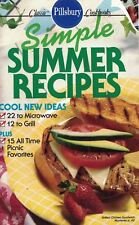Pillsbury Simple SUMMER RECIPES Small Cookbook #114 15 Picnic Favs, 12 to Grill