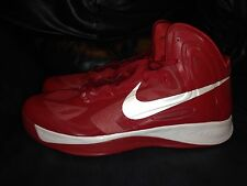 DS Nike Hyperfuse Red Mens Basketball Shoes Size 18