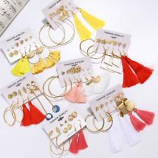 Women's Earrings Set Tassel Pearl for Women Bohemian Fashion Jewelry Geometric