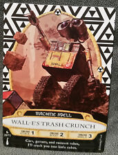 Disney Sorcerers Of The Magic Kingdom 39/70 Wall-E's Trash Crunch Game Card