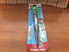 Disney Pixar Toy Story 3 Woody And Buzz Lightyear Jumbo Pen Black And Green MIP