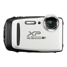 Fujifilm FinePix XP130 16.4MP Digital Camera White Full-HD Wi-Fi Bluetooth