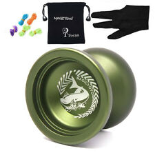 Magic Yoyo N12 Shark Honor Unresponsive Yo-Yos Balls Green Trick Yo-Yo Kids Toy