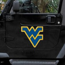 "West Virginia Mountaineers 12"" Logo Car Truck Auto Vinyl Magnet"