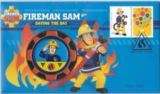 2017 FIREMAN SAM SAVING THE DAY MEDALLION COVER PNC
