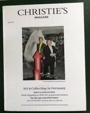 CHRISTIE`S Magazine April 2018  Special Issue  ART & COLLECTING IN GERMANY