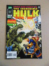 The Incredible Hulk 444 .Cable / Onslaught - Marvel 1996 -  VF
