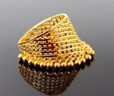 TOP CLASS 22KARAT AUTHENTIC GOLD CHARM RING FOR WOMEN SPECIAL WOMEN'S JEWELRY