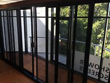SLIDING STACKER DOOR | PREMIUM RANGE | ALUMINIUM - DOUBLE GLAZED - 2110H X 5410W