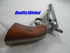 MOVING PARTS WOOD GRIPS HD METAL REPLICA M1860 REVOLVER 44 MOVIE PROP PISTOL GUN