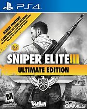Sniper Elite III Untimate Edition Five PS4 Games Sony Playstation 4  New