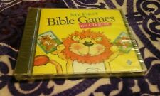 MY FIRST BIBLE GAMES BINGO DOMINOES MEMORY STORIES PC MAC CD ROM NEW