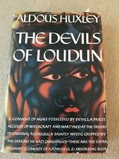 The Devils of Loudun by Aldous Huxley - 1953 1st US Edition Hardcover Dustjacket