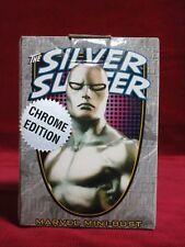 Bowen Designs Chrome Silver Surfer mini bust AP signed Figurine Statue Sideshow