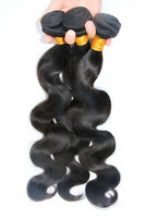 300gram Unprocessed Indian Virgin Human Remy Hair Extension Body Wave Weave Weft