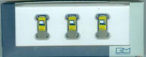 Rietze 70295 Fahrkartenautomat NS Groep N.V (Niederlande) , 3 Stueck, H0