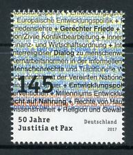 Germany 2017 MNH Justitia et Pax 50 Years Justice Peace 1v Set Stamps