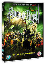 Sucker Punch DVD Action Film Zack Snyder film for Gaming lovers Computer Games