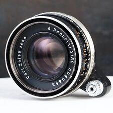 :Carl Zeiss Jena Pancolar 50mm f2 Exakta Mount Lens #0653