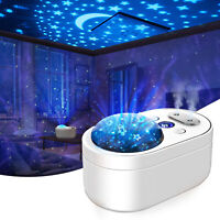 1000ML Ultrasonic Air Humidifier Diffuser USB LED Projector Dual Mist Sprayer
