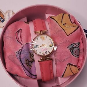Mattel Barbie fossil Pink Watch and Scarf 35th anniversary 1994