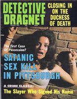 ORIGINAL Vintage October 1974 Detective Dragnet Magazine GGA