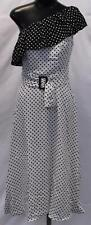 Nasty Gal Women's Good Spot Polka Dot Dress CK6 White Size UK:8 US:4 NWT