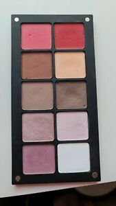 INGLOT freedom System 10 shadow palette with shadows - read description