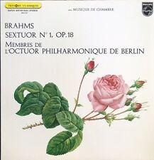 Brahms Sextuor N°1, OP.18 - Octuor Philharmonique de Berlin - Vinyl LP 33T