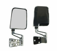Jeep Yj Tj Wrangler New Mirror Kit Chrome Full And Half  X 11010.04