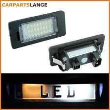 SMD LED SET Kennzeichenbeleuchtung Kennzeichen Leuchte BMW kaltweiß NEU