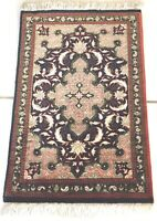 Exquisit Meister Perser Ghom Seiden Teppich Unikat Persian Gum Silk Rug Carpet