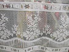 rideaux L 45 cm neuf fleurs vendu par tranche de 23 cm