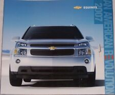 2007 07 Chevrolet Equinox original sales brochure MINT