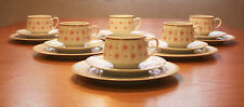 "Vintage, Retro, Arabia Finland,""ROKSANA"" coffee cups and saucers,cake plates"