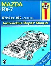 Mazda RX-7 rx7 Haynes Repair Manual NEW 79-85 shop Service Book Owners