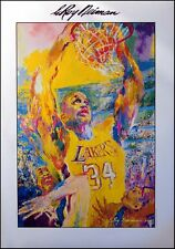 LeRoy Neiman Original Poster SHAQ basketball unsigned L@@K! Submit Your Offer!