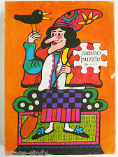 Vintage CHILDREN'S PUZZLE WITCH   Alfons van Heusden Illustration   Jumbo Jigsaw