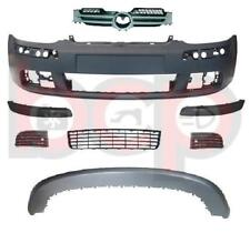 VW GOLF MK5 2004 - 2009 FRONT BUMPER PRIMED COMPLETE ALL GRILLES & TRIMS NEW
