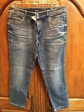 WHITE HOUSE BLACK MARKET BLANC DENIM JEANS SIZE 12 NWT