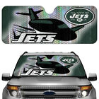 New York NY Jets NFL Reflective Car Truck Automotive Folding Sun Shade