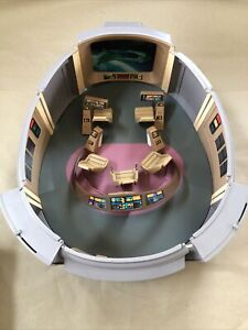 Playmates Star Trek The Next Generation Enterprise Bridge Playset COMPLETE W/Box