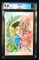 🔥RARE The Clock #1 CGC NM/MT 9.8 Peach Momoko Virgin variant Lmtd to 500 copies