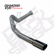 FITS 10-14 ONLY Ford 6.7L Powerstroke Diesel BD EXAUST Kit 4in DPF-Back Single.