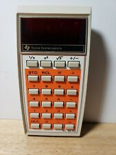 Texas Instruments Ti-1270 Electronic Calculator Vintage Tested Works