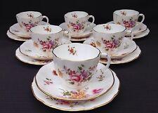 """Royal Crown Derby """"Fiorellini'S 6 x Tea Trio-OTTIMO"""