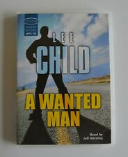 A Wanted Man - by Lee Child - MP3CD - Audiobook