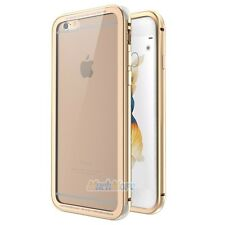 Luxury Metal Bumper Gorilla Glass Back Cover Case for iPhone 7 7 Plus 6/6s Plus