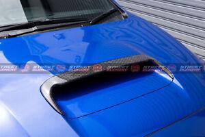 SE V1 Bonnet Scoop Extension For 2015-2020 Subaru WRX/STI V1 (GLOSS BLACK 668)