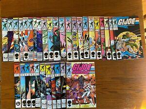 G.I. Joe: A Real American Hero #'s 3, 31-36, 48-66, 69-72, Yearbook #3